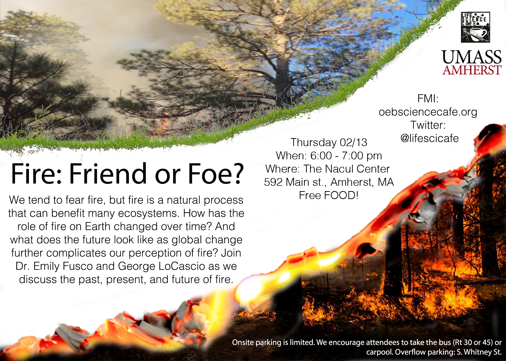 Science Cafe 12/13 - Fire: Friend or Foe?